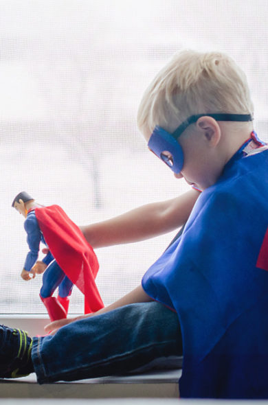 Zwei Superhelden
