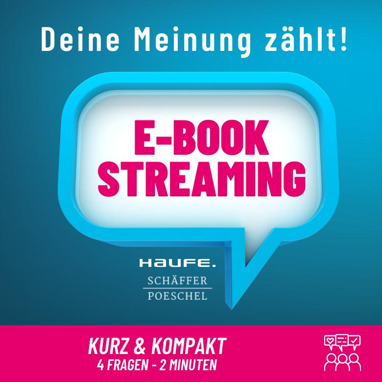 Umfrage E-Book Streaming
